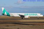 いおりさんが、山口宇部空港で撮影したエアソウル A321-231の航空フォト(写真)