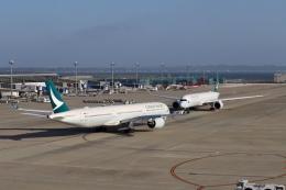 m_aereo_iさんが、中部国際空港で撮影したキャセイパシフィック航空 A350-1041の航空フォト(写真)