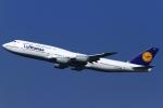 とらとらさんが、羽田空港で撮影したルフトハンザドイツ航空 747-830の航空フォト(写真)
