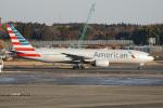 神宮寺ももさんが、成田国際空港で撮影したアメリカン航空 777-223/ERの航空フォト(写真)