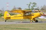 banshee02さんが、大利根飛行場で撮影した日本法人所有 PA-18-150 Super Cubの航空フォト(写真)