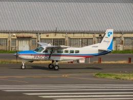 さんぜんさんが、調布飛行場で撮影した共立航空撮影 208B Grand Caravanの航空フォト(写真)