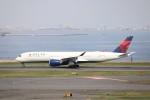 KAZFLYERさんが、羽田空港で撮影したデルタ航空 A350-941XWBの航空フォト(飛行機 写真・画像)