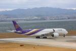meijeanさんが、関西国際空港で撮影したタイ国際航空 A350-941XWBの航空フォト(写真)