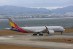 meijeanさんが、関西国際空港で撮影したアシアナ航空 A350-941XWBの航空フォト(写真)