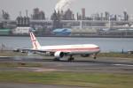 KAZFLYERさんが、羽田空港で撮影したガルーダ・インドネシア航空 777-3U3/ERの航空フォト(写真)