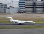 ハム太郎。さんが、羽田空港で撮影した不明 G500/G550 (G-V)の航空フォト(写真)