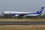 endress voyageさんが、岡山空港で撮影した全日空 767-381の航空フォト(写真)