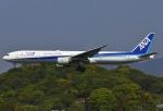 あしゅーさんが、福岡空港で撮影した全日空 777-381の航空フォト(写真)
