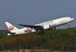 あしゅーさんが、福岡空港で撮影した日本航空 777-246の航空フォト(写真)