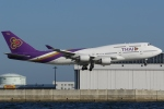 Wings Flapさんが、関西国際空港で撮影したタイ国際航空 747-4D7の航空フォト(写真)