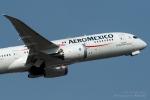 kina309さんが、成田国際空港で撮影したアエロメヒコ航空 787-8 Dreamlinerの航空フォト(写真)