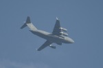 cornicheさんが、アル・ウデイド空軍基地で撮影したアメリカ空軍 C-17A Globemaster IIIの航空フォト(写真)