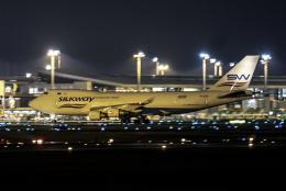 Cozy Gotoさんが、成田国際空港で撮影したシルクウェイ・ウェスト・エアラインズ 747-4H6F/SCDの航空フォト(写真)