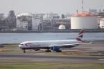 KAZFLYERさんが、羽田空港で撮影したブリティッシュ・エアウェイズ 777-36N/ERの航空フォト(写真)
