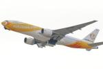 アイトムさんが、関西国際空港で撮影したノックスクート 777-212/ERの航空フォト(飛行機 写真・画像)
