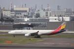 KAZFLYERさんが、羽田空港で撮影したアシアナ航空 A330-323Xの航空フォト(写真)