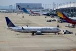 ハピネスさんが、関西国際空港で撮影したユナイテッド航空 737-824の航空フォト(飛行機 写真・画像)
