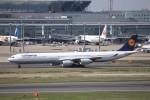 KAZFLYERさんが、羽田空港で撮影したルフトハンザドイツ航空 A340-642の航空フォト(飛行機 写真・画像)