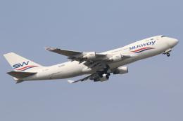 やまけんさんが、成田国際空港で撮影したシルクウェイ・ウェスト・エアラインズ 747-4H6F/SCDの航空フォト(写真)