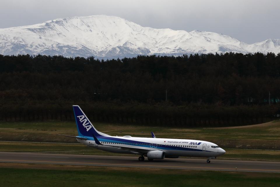 トリトンブルーSHIROさんの全日空 Boeing 737-800 (JA56AN) 航空フォト