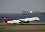 だだちゃ豆さんが、羽田空港で撮影したデルタ航空 A350-941XWBの航空フォト(写真)