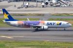 renseiさんが、羽田空港で撮影したスカイマーク 737-81Dの航空フォト(写真)