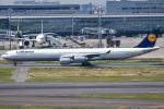 renseiさんが、羽田空港で撮影したルフトハンザドイツ航空 A340-642の航空フォト(写真)