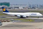 renseiさんが、羽田空港で撮影したルフトハンザドイツ航空 747-830の航空フォト(写真)