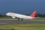 kuro2059さんが、鹿児島空港で撮影したイースター航空 737-86Nの航空フォト(写真)