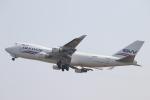 tmkさんが、関西国際空港で撮影したシルクウェイ・ウェスト・エアラインズ 747-4H6F/SCDの航空フォト(写真)