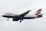Koenig117さんが、ロンドン・ヒースロー空港で撮影したブリティッシュ・エアウェイズ A319-131の航空フォト(写真)