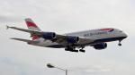 誘喜さんが、ロンドン・ヒースロー空港で撮影したブリティッシュ・エアウェイズ A380-841の航空フォト(写真)