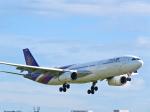 今ちゃんさんが、福岡空港で撮影したタイ国際航空 A330-343Xの航空フォト(写真)