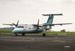 HND_fanさんが、壱岐空港で撮影したオリエンタルエアブリッジ DHC-8-201Q Dash 8の航空フォト(写真)