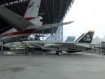 Smyth Newmanさんが、ミュージアム・オブ・フライトで撮影したアメリカ海軍 F-14A Tomcatの航空フォト(写真)