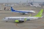 わんだーさんが、中部国際空港で撮影したソラシド エア 737-86Nの航空フォト(写真)