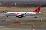 北の熊さんが、新千歳空港で撮影したイースター航空 737-8KNの航空フォト(写真)