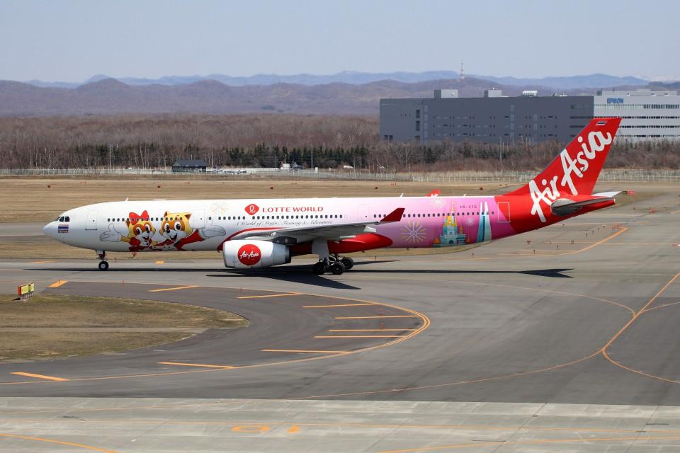 北の熊さんのタイ・エアアジア・エックス Airbus A330-300 (HS-XTD) 航空フォト