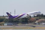 ANA744Foreverさんが、成田国際空港で撮影したタイ国際航空 A350-941XWBの航空フォト(写真)