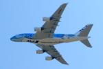 Naoxさんが、成田国際空港で撮影した全日空 A380-841の航空フォト(写真)