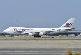 kix-booby2さんが、関西国際空港で撮影したシルクウェイ・ウェスト・エアラインズ 747-4H6F/SCDの航空フォト(写真)