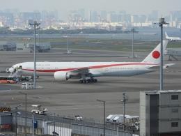 チャレンジャーさんが、羽田空港で撮影した航空自衛隊 777-3SB/ERの航空フォト(写真)