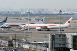 kuraykiさんが、羽田空港で撮影した航空自衛隊 777-3SB/ERの航空フォト(写真)