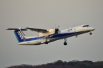 frappéさんが、福岡空港で撮影したANAウイングス DHC-8-402Q Dash 8の航空フォト(写真)