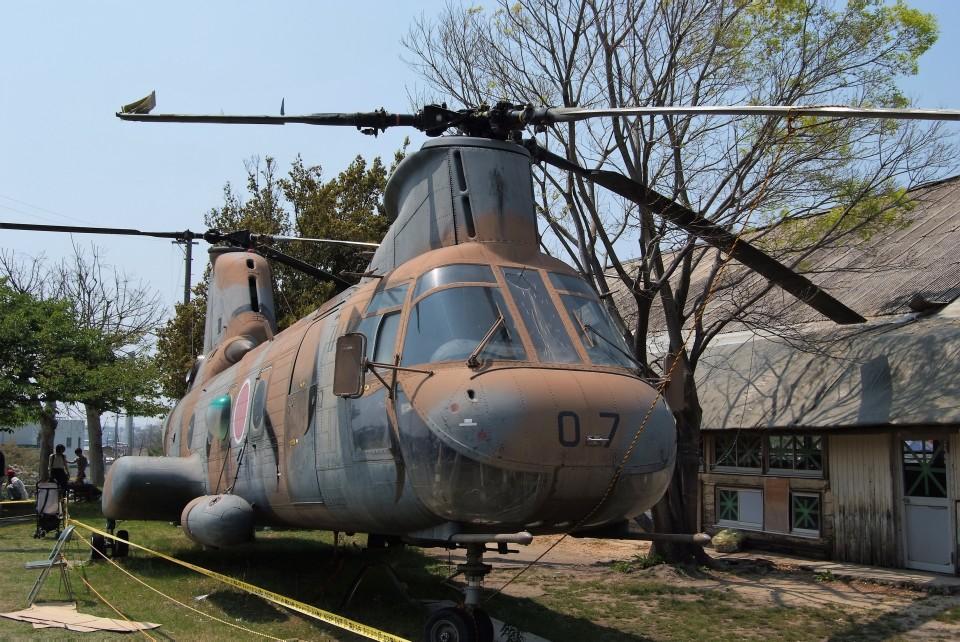 @あきやんさんの陸上自衛隊 Kawasaki V-107 (51807) 航空フォト