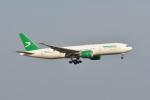 ポン太さんが、スワンナプーム国際空港で撮影したトルクメニスタン航空 777-22K/LRの航空フォト(写真)