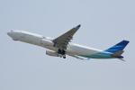 徳兵衛さんが、関西国際空港で撮影したガルーダ・インドネシア航空 A330-343Xの航空フォト(写真)