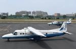 チャーリーマイクさんが、調布飛行場で撮影した新中央航空 228-212の航空フォト(写真)