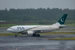 ぱん_くまさんが、成田国際空港で撮影したパキスタン国際航空 A310-308の航空フォト(写真)